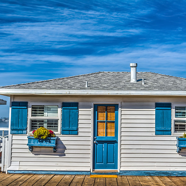 Wooden House by The Sea in San Diego | Spyglass Lending